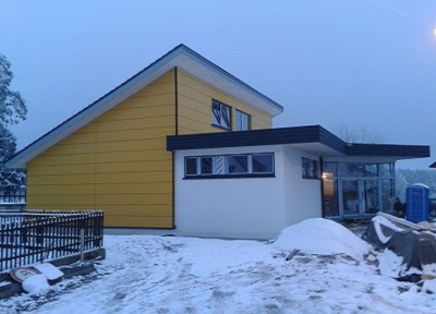 Neue Ansicht vom Büttnerhaus