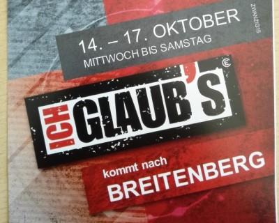 ICH GLAUB'S in Breitenberg