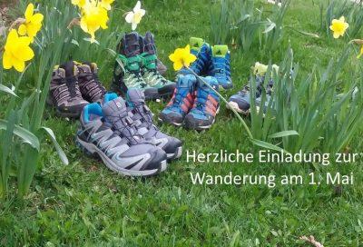 Wanderung am 1. Mai