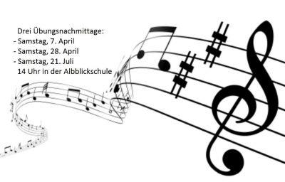 Einladung zum Projektchor